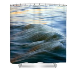 Sunrise Ripple Shower Curtain