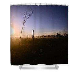 Sunrise Savannah Georgia Usa Shower Curtain
