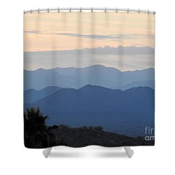 Sunrise Series #7 Shower Curtain