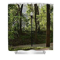 Shower Curtain featuring the photograph Sunrise Service by Skip Willits