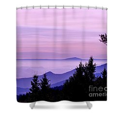 Sunrise Silhouettes Shower Curtain