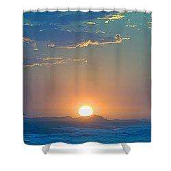 Sunrise Sky Shower Curtain