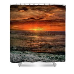 Sunrise Special Shower Curtain by Joseph Hollingsworth