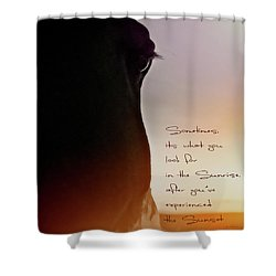 Sunrise Sunset Shower Curtain