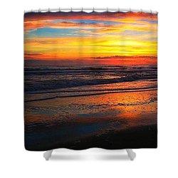 Sunrise Sunset Shower Curtain