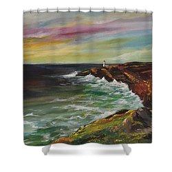 Sunrise Viii Shower Curtain by Jun Jamosmos