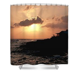 Sunset @ Spotts Shower Curtain