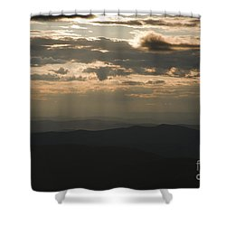Sunset - White Mountains New Hampshire Usa Shower Curtain by Erin Paul Donovan