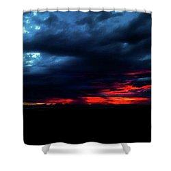 Sunset #10 Shower Curtain