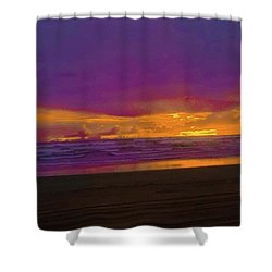 Sunset #3 Shower Curtain