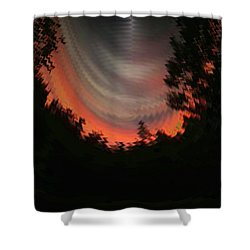 Sunset 3 Shower Curtain by Tim Allen