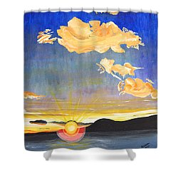 Sunset #6 Shower Curtain