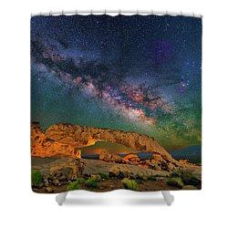 Sunset Arch Shower Curtain