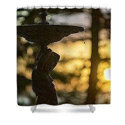 Shower Curtain featuring the photograph Sunset At Alameda Apodaca Cadiz Spain by Pablo Avanzini
