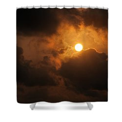 Sunset At Aruba Shower Curtain