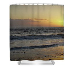 Sunset At Barry Shower Curtain