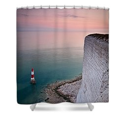 Sunset At Beachy Head Shower Curtain