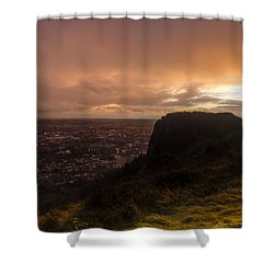 Sunset At Cavehill Shower Curtain