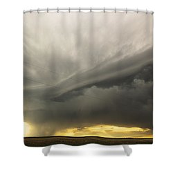 Sunset At Dalhart Texas Shower Curtain