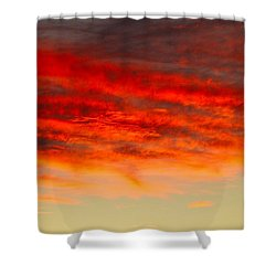 Sunset At Eaton Rapids 4826 Shower Curtain