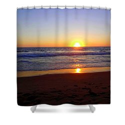 Sunset At Hermosa Shower Curtain
