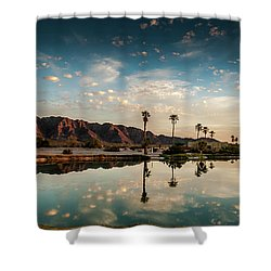 Sunset At Las Barancas Shower Curtain