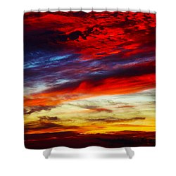 Sunset At Louie's Shower Curtain
