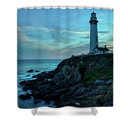 Sunset At Pigeon Point Shower Curtain