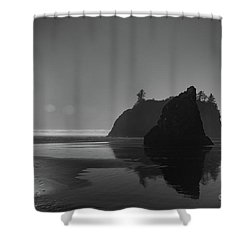 Sunset At Ruby Beach #2 Shower Curtain