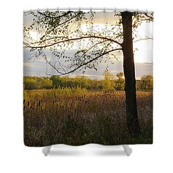 Sunset At Scuppernong II Shower Curtain