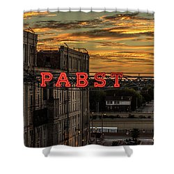 Sunset At The Brewery Shower Curtain