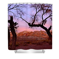 Sunset At The Swell Shower Curtain