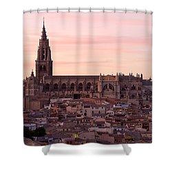 Sunset At Toledo Shower Curtain