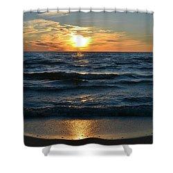 Sunset At Wasaga Beach June 21-2017  Shower Curtain