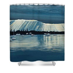 Sunset At Yamba Nsw Shower Curtain