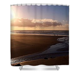Sunset - Bastendorff Beach Shower Curtain