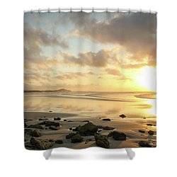 Sunset Beach Delight Shower Curtain