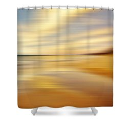 Shower Curtain featuring the photograph Sunset Breez'n by Kathi Mirto