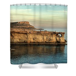 Sunset By The Cape Shower Curtain by Mike Santis