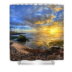 Sunset Cliffs Shower Curtain