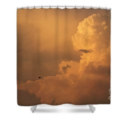 Sunset Clouds 01 Shower Curtain