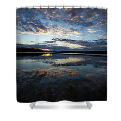 Sunset Clouds 1 Shower Curtain by Dennis Hedberg