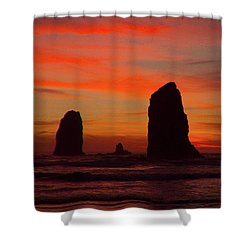 Sunset Coast Shower Curtain