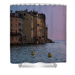 Sunset Colors Shower Curtain by Rae Tucker