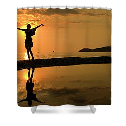 Sunset Dance Shower Curtain