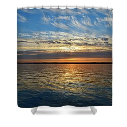Sunset Dream  Shower Curtain by Lyle Crump