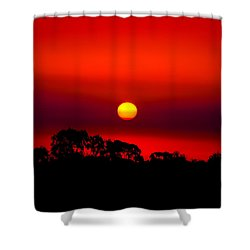 Sunset Dreaming Shower Curtain