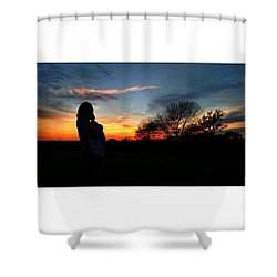 #sunset #fbf #blessed #photooftheday Shower Curtain