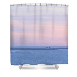 Sunset From Irish Beach Shower Curtain