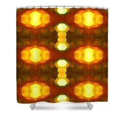Sunset Glow 1 Shower Curtain by Amy Vangsgard